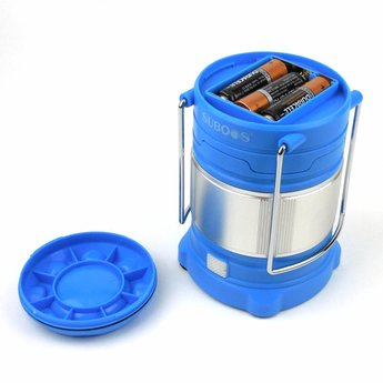 Uitschuifbare LED Kampeerlantaarn 185 lumen - Blauw