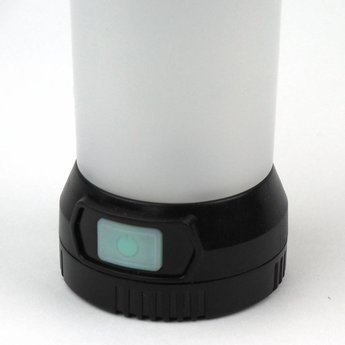 Mini LED Kampeerlantaarn 290 Lumen Zwart - Oplaadbaar