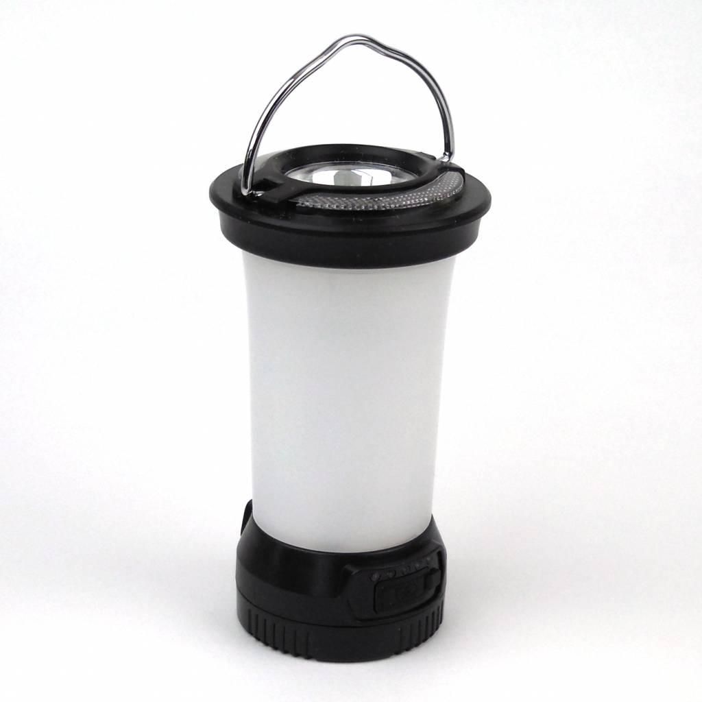 Mini LED Kampeerlantaarn 290 Lumen Zwart