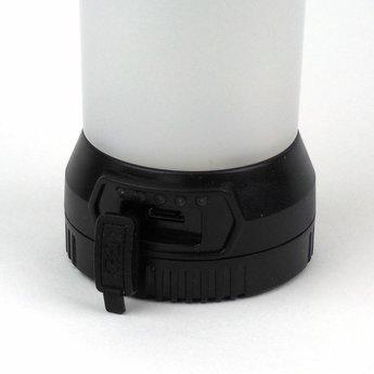 Mini LED Camping Lantern 290 Lumen Black - Rechargeable