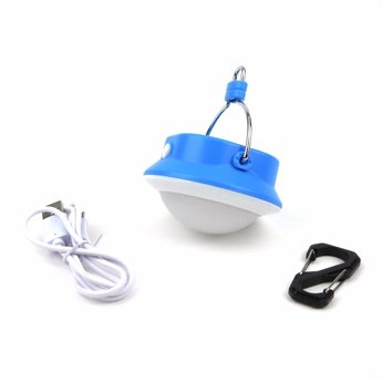 LED Camping Lamp with Battery 310 Lumen - Blue