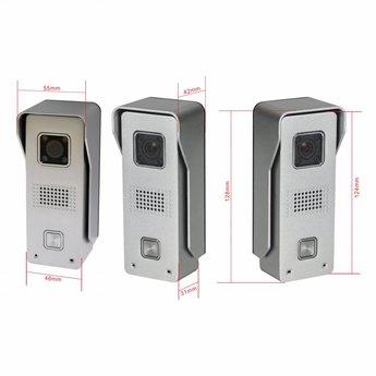 Wifi Deurbel met Camera incl. Smartphone App - Slim&Veilig