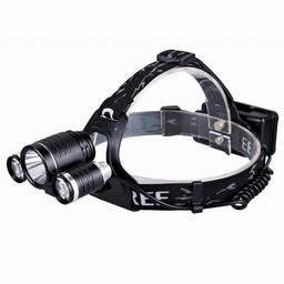 Aluminium LED Hoofdlamp Extreme - 630 lumen - Zwart
