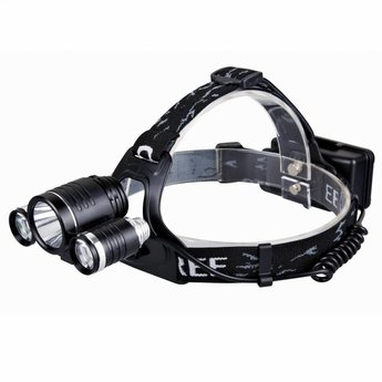 Aluminum LED Headlamp/Bicycle light Extreme - Black