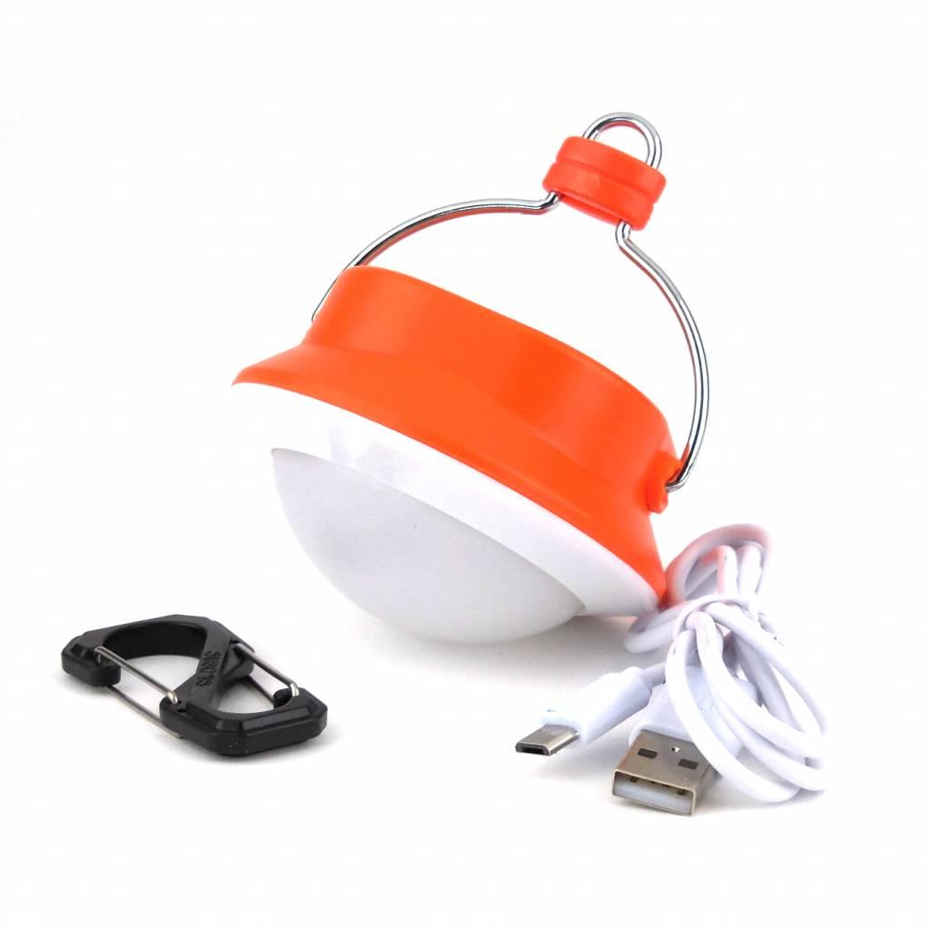 LED Camping Lamp met accu 310 Lumen - Oranje