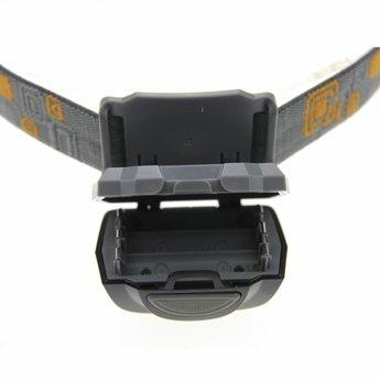 Plastic LED Headlamp 170 lumen Black - 5 light positions
