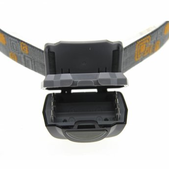 Plastic LED Hoofdlamp 170 lumen - Zwart - 5 lichtstanden