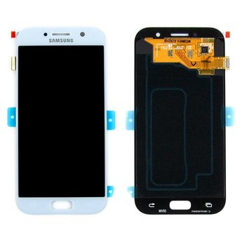 Samsung Galaxy A5 (2017) SM-A520F Lcd Display Blauw GH97-19733C Service Pack
