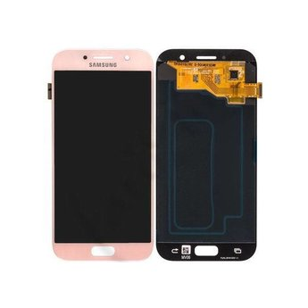 Samsung Galaxy A5 (2017) SM-A520F Lcd Display Roze GH97-19733D Service Pack