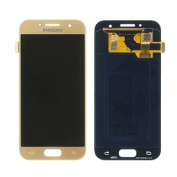Samsung Galaxy A3 (2017) Lcd Display Gold GH97-19732B