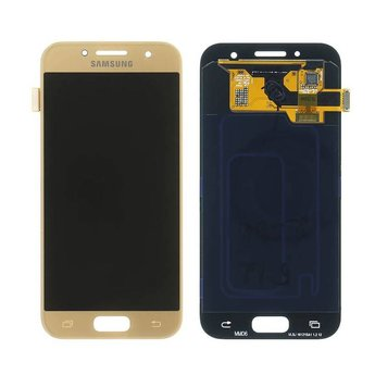Samsung Galaxy A3 (2017) SM-A320F Lcd Display Gold GH97-19732B Service Pack