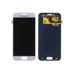 Samsung Galaxy A3 (2017) Lcd Display Blauw GH97-19732C