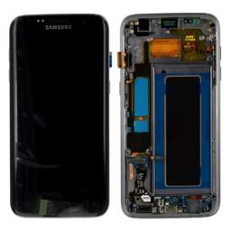 Samsung Galaxy S7 Edge Lcd Display Black GH97-18533A