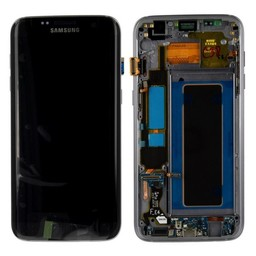 Samsung Galaxy S7 Edge Lcd Display Zwart GH97-18533A