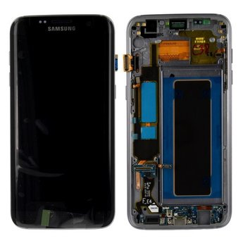 Samsung Galaxy S7 Edge SM-G935F Lcd Display Zwart GH97-18533A Service Pack