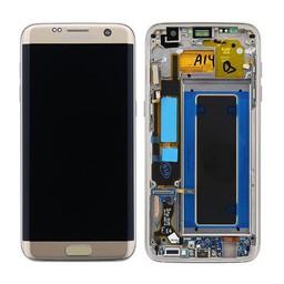 Samsung Galaxy S7 Edge Lcd Display Gold GH97-18533C