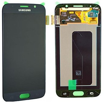 Samsung Galaxy S6 SM-G920F Lcd Display Zwart GH97-17260A Service Pack