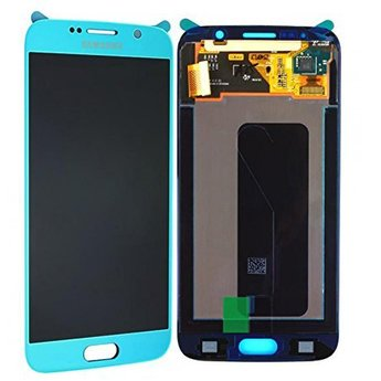 Samsung Galaxy S6 SM-G920F Lcd Display Blauw GH97-17260D Service Pack