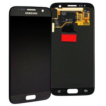 Samsung Galaxy S7 SM-G930F Lcd Display Black GH97-18523A Service Pack