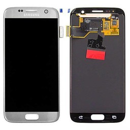 Samsung Galaxy S7 Lcd Display Silver GH97-18523B