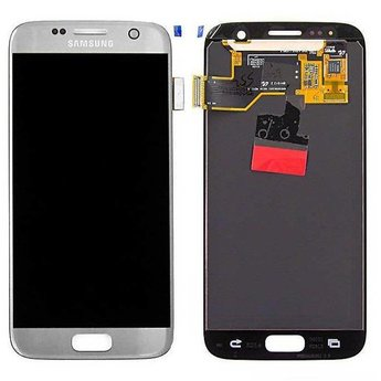 Samsung Galaxy S7 SM-G930F Lcd Display Zilver GH97-18523B Service Pack