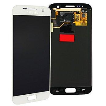 Samsung Galaxy S7 SM-G930F Lcd Display White GH97-18523D Service Pack
