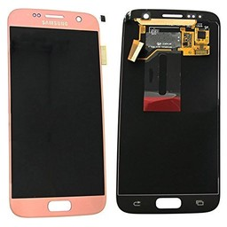 Samsung Galaxy S7 Lcd Display Pink Gold GH97-18523E