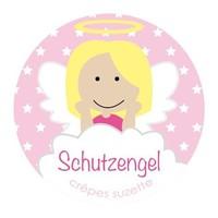 Schutzengel Button für Mädchen