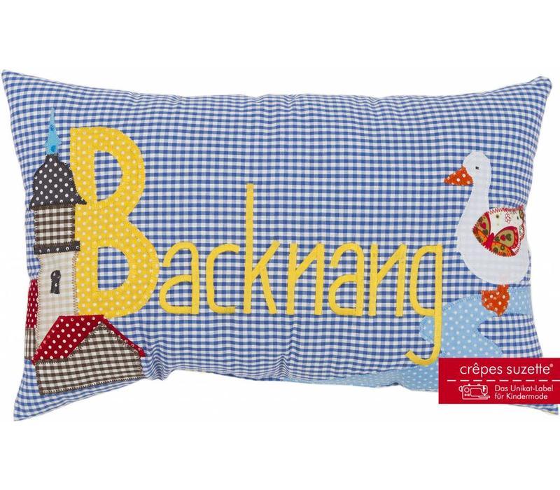 Namenskissen Stadt Backnang - auch mit Namen erhältlich