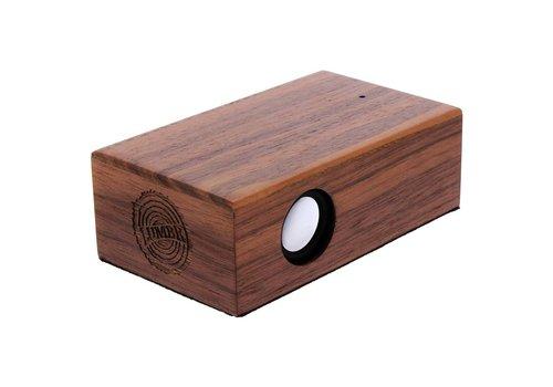 Lumbr BeatBlok Wooden Speaker (Walnut)
