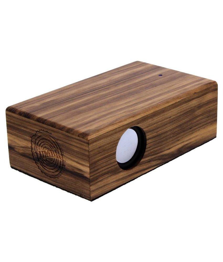 BeatBlok Wooden Speaker (Zebra)
