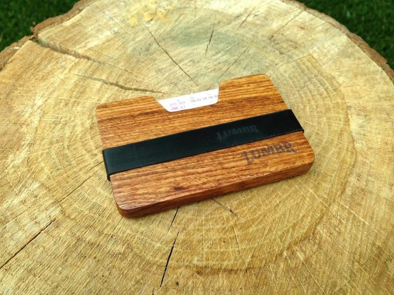 Lumbr Wooden Wallet BØRS (Walnut)