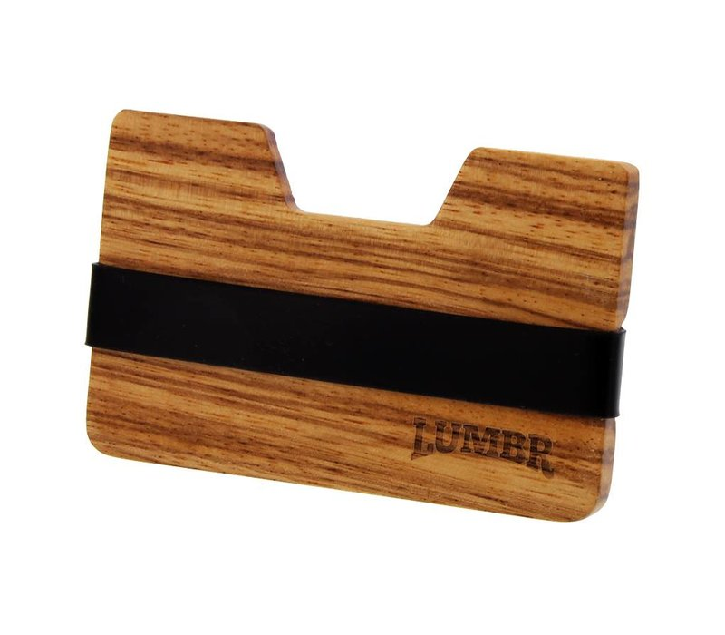 Wooden Wallet BØRS (Zebra wood)