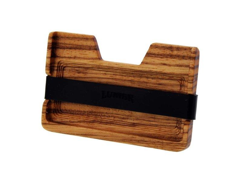 Lumbr Wooden Wallet BØRS (Zebra wood)