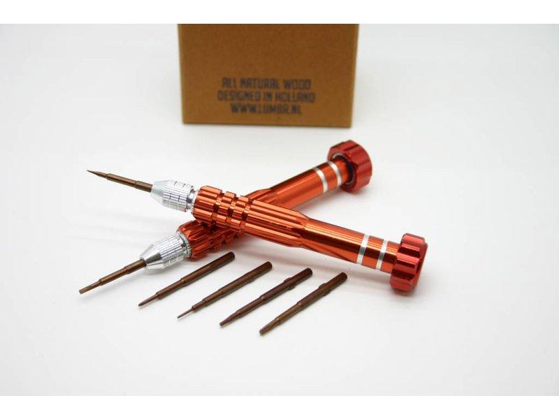 Lumbr Set precision screwdrivers
