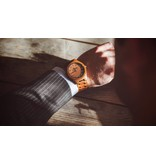 Lumbr T1M3 Armbanduhr aus Walnuss holz Herren