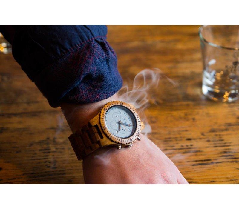 Wooden Watch Chrono Teak