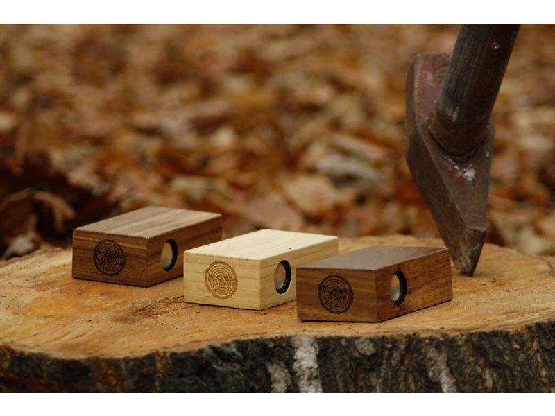Lumbr BeatBlok Wooden Speaker (Bamboo)