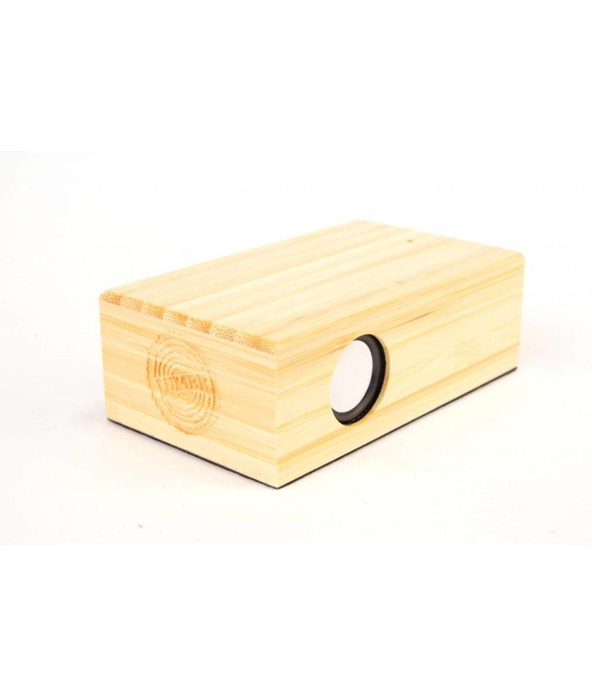 Houten Speaker Beatblok (Bamboe)