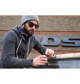 Lumbr Houten herenhorloge Chrono Ebbenhout + Shine Zonnebril Walnoot Combo deal