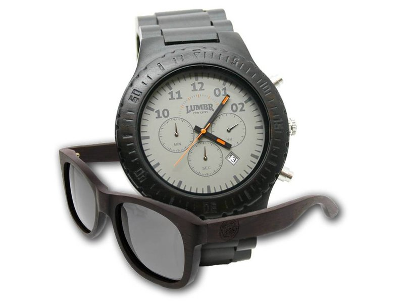 Lumbr Combo deal: Chrono Ebony + Shine Walnut