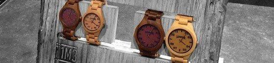 Armbanduhren aus Holz