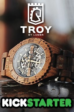 Shipping of the Troy Watches to our backers has begun