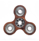 Lumbr Fidget Spinner Walnut wood