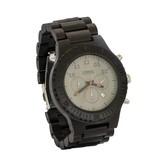 Lumbr Houten Horloge Chrono (Ebbenhout)