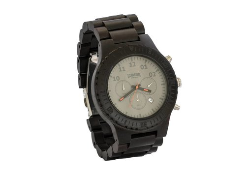 Lumbr Wooden Watch Chrono Ebony