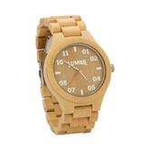 Lumbr T1M3 bamboehout horloge (Large)