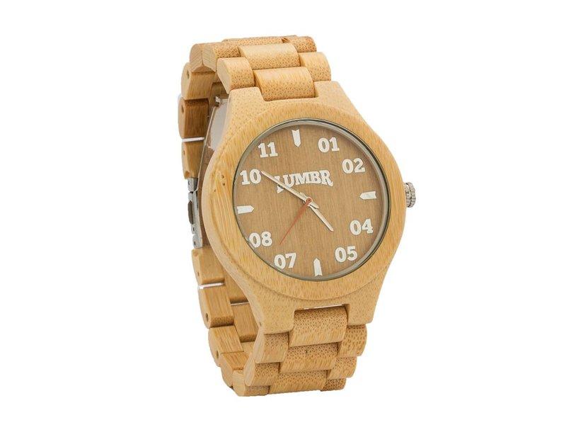 Lumbr T1M3 Armbanduhr aus Bambus Herren