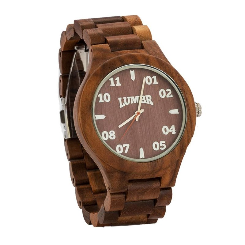 Wooden Watch T1M3 Walnut Large