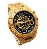 Lumbr Troy Mechanical wooden watch - Copy